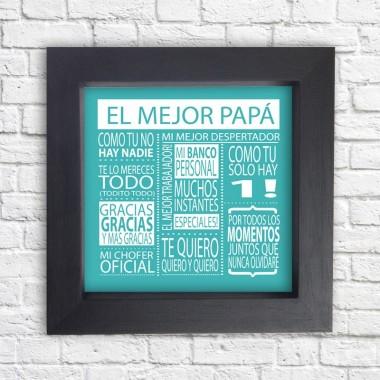 Cuadro El mejor Papa