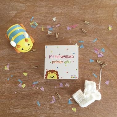 Libros Bebé 'Mi Maravilloso Primer Año' - Personalizable