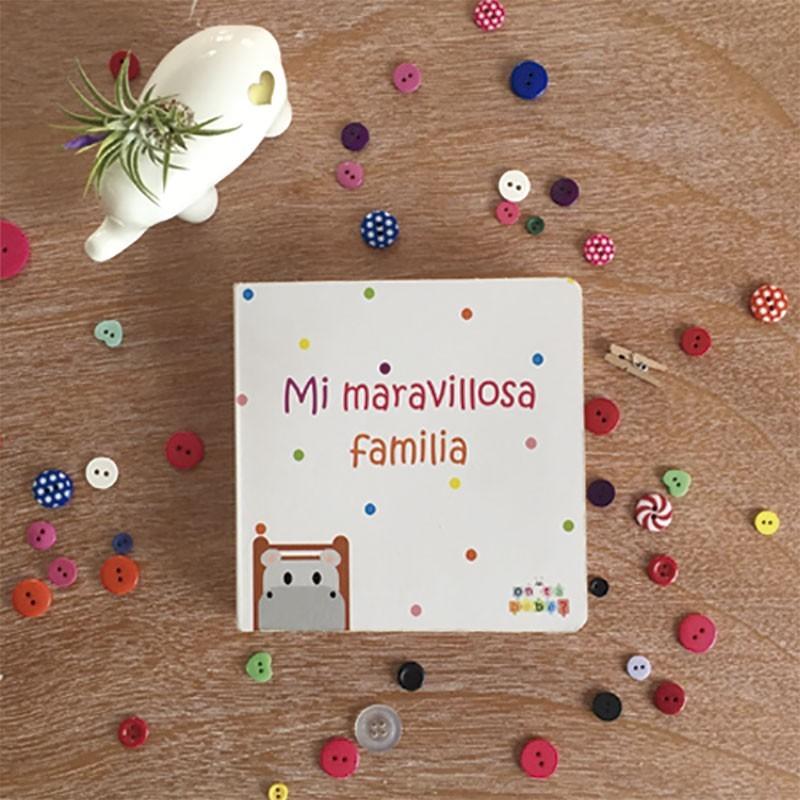 Libros Bebé 'Mi Maravillosa Familia' - Personalizable