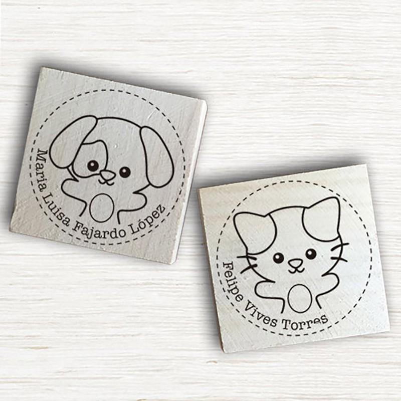 Sellos Papel - Mascotas Personalizables