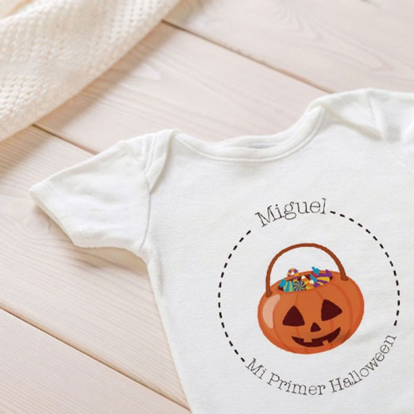 Camiseta Halloween DISFRACES - Personalizable