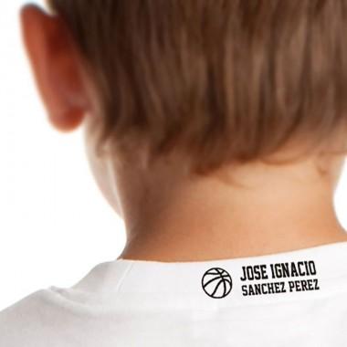 Sellos  TELA - Deportes Personalizable