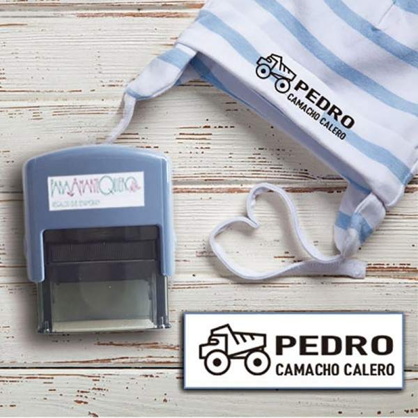 Sellos  TELA - Transporte Personalizable