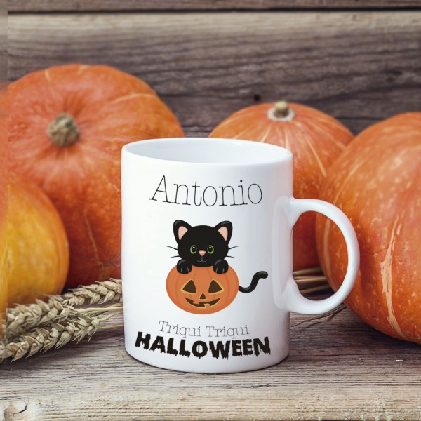 Mug Halloween Disfraces - Personalizable