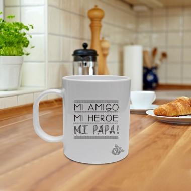 Mug, Mi papá mi heroe
