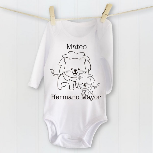 Camiseta Hermano Mayor - Personalizable